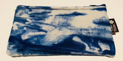 Blue waves purse