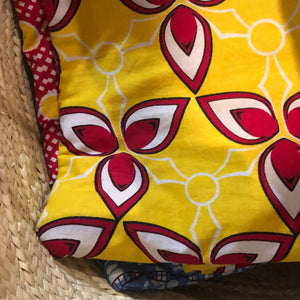 Tana Red & Yellow Kanga Beach Towel