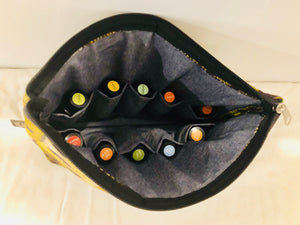 Large star essential oil travel bag (10 pockets)