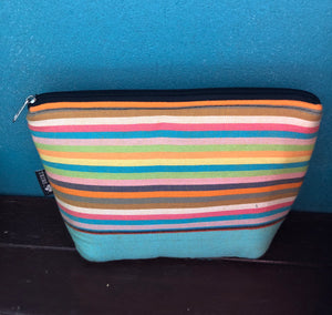 Summer kikoi stripes travel bag
