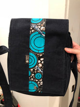 Turquoise Bliss Denim Cross Body Bag