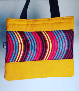 Tana jute laptop, shoulder bag