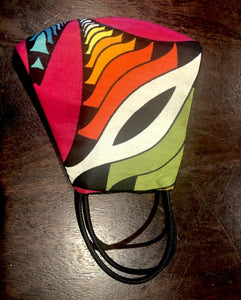 Rainbow Fabric Mask