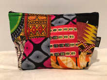 Large kitenge patchwork travel bag