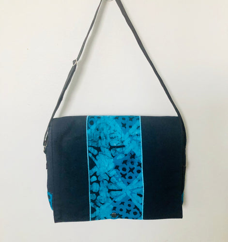 Laptop Ocean Blue Denim Bag