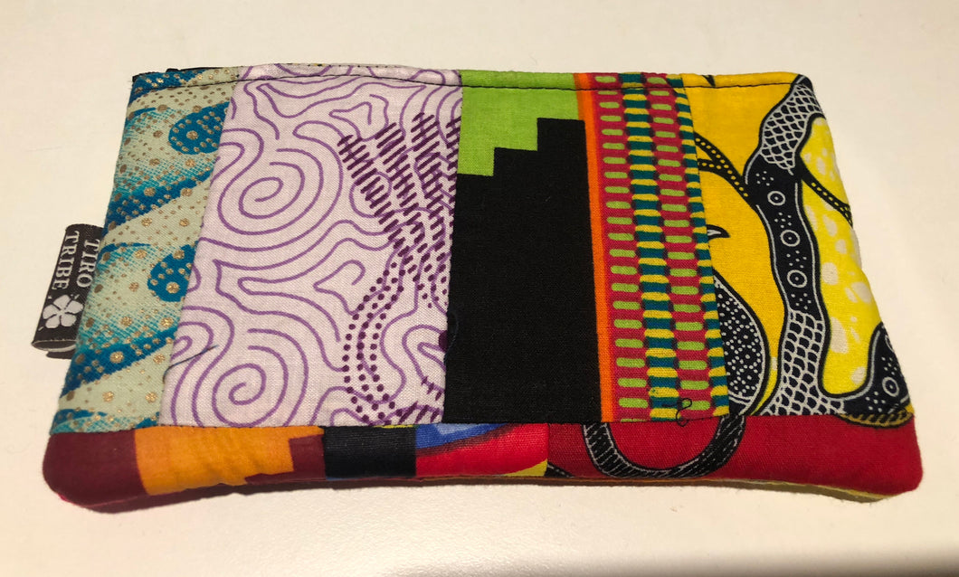 Kenya sita patchwork purse