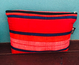 Red mzuri essential oil bag (10 pockets)