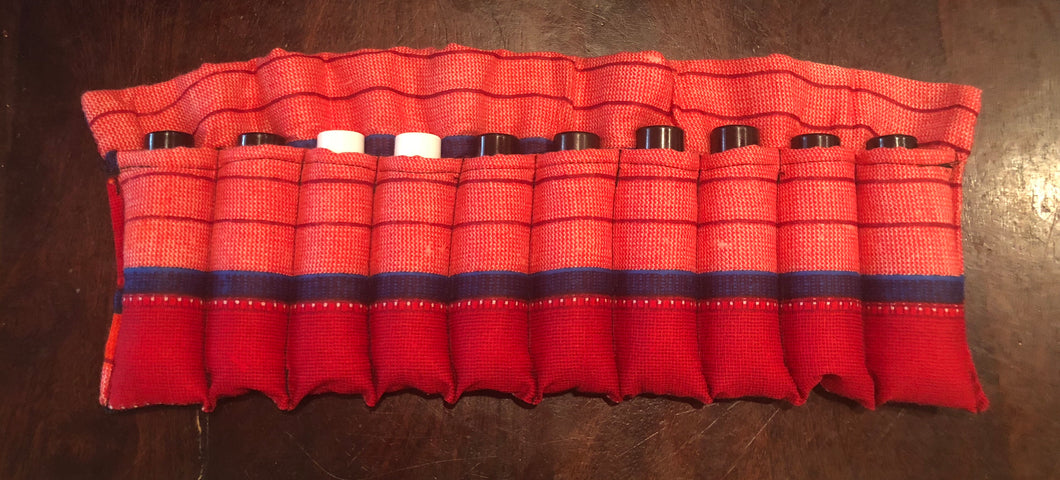Red Maasai - 10ml Essential Oil Roller Insert (10 pockets)