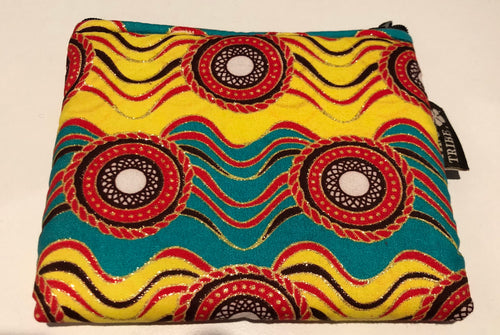 Kilifi wave medium square purse