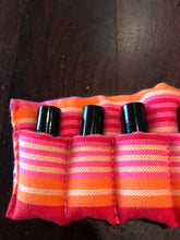 Pink Kikoi - 5ml Essential Oil Roller Pouch (10 pockets)