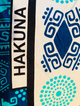 Diani Blue Kanga Beach Towel