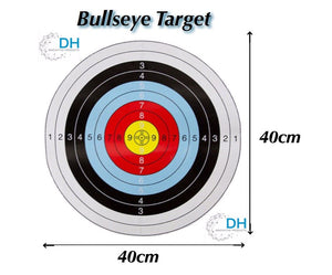 X50 ARCHERY SHOOTING TARGETS COMPOUND OR RECURVE 40x40cm - Outback Tactical