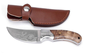 PUMATEC African Hunting Knife By Northern American Hunting Club +Fire Starter - Outback Tactical