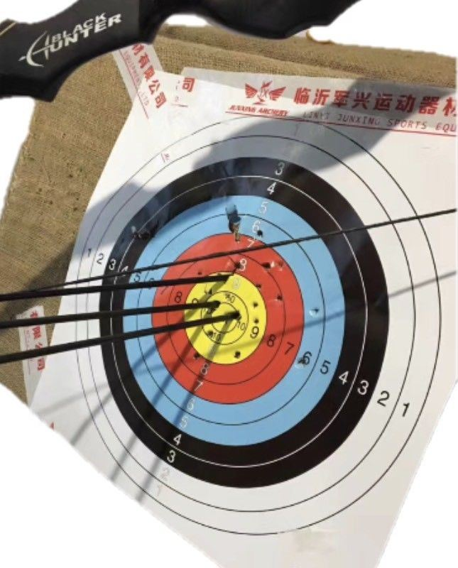 7 Pce - 100 Pce ARCHERY SHOOTING TARGETS COMPOUND OR RECURVE 40x40cm - Outback Tactical