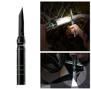 Ultimate Survival Tool Kit Gear GT6 LED 8000 LM Flashlight S30V Knife - Outback Tactical