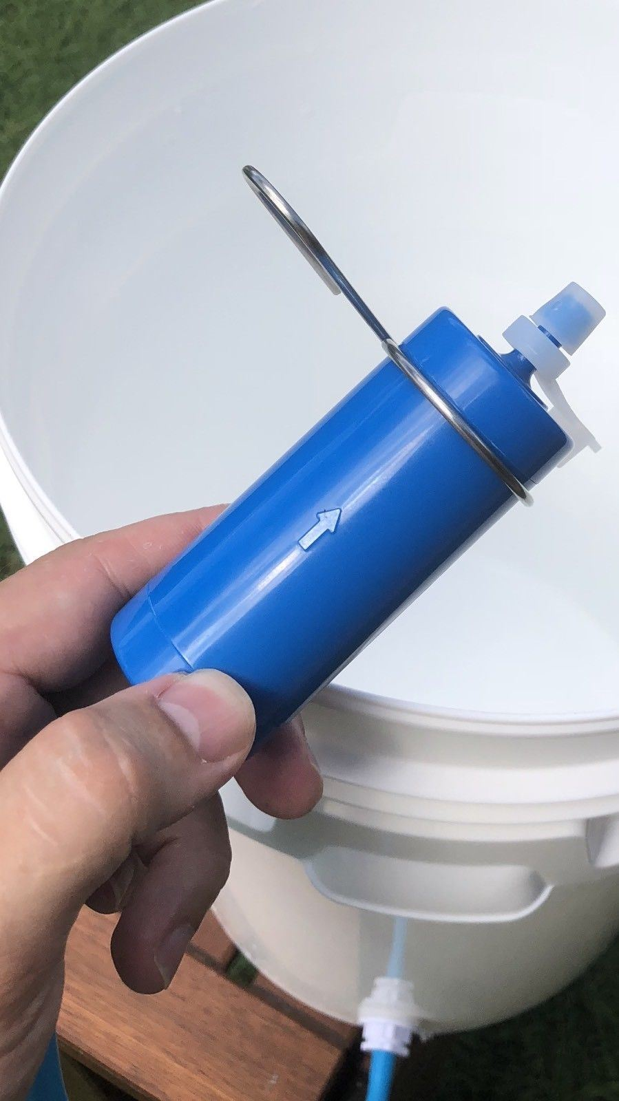 3500 Litre Survival Gravity Water Filter Hiking Camping Emergency - Outback Tactical