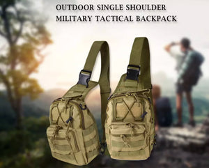Multipurpose Tactical Shoulder Bag /Backpack Python Black and Python Army Camo - Outback Tactical