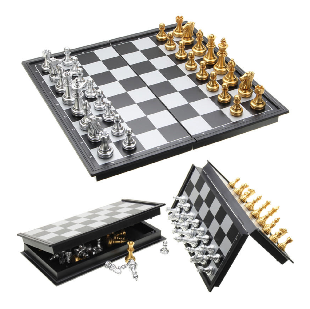 Chess Board Magnetic Folding Set