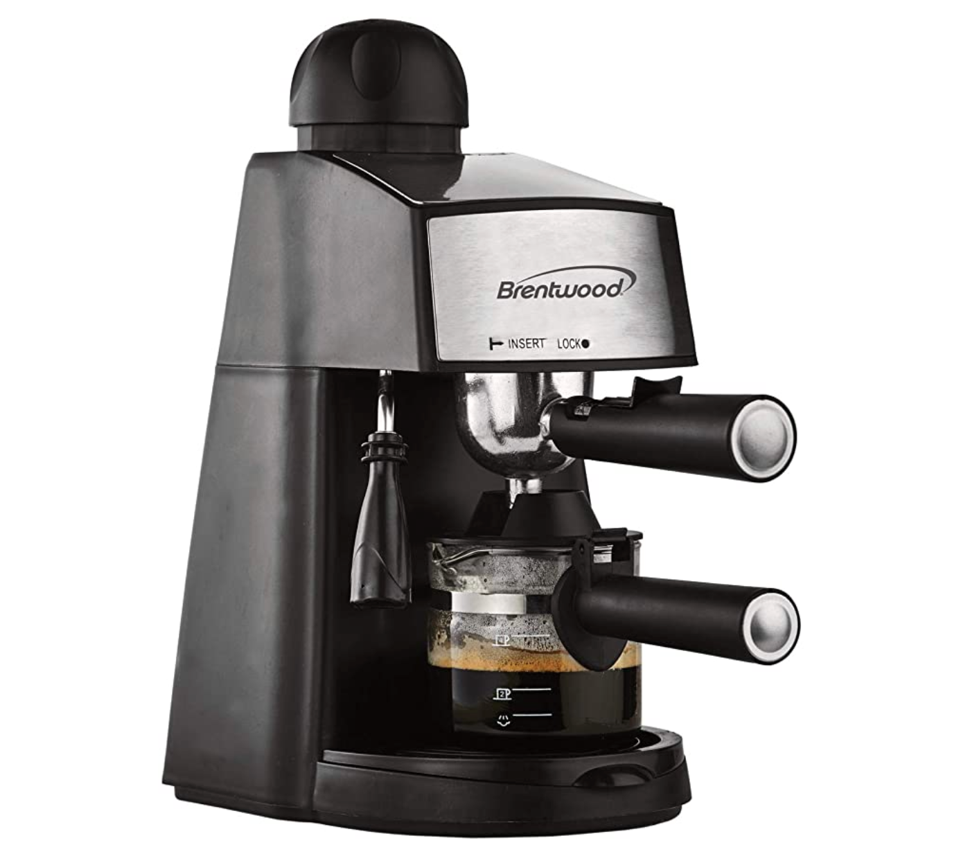 Brentwood™ Espresso and Cappuccino Machine Coffee Maker with Foamer Steamer