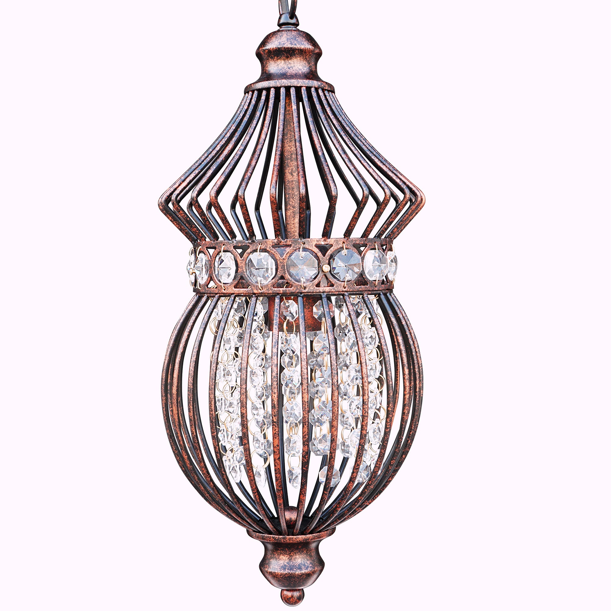 crystal pendant drum product glow mount essentials round urban flush chandelier