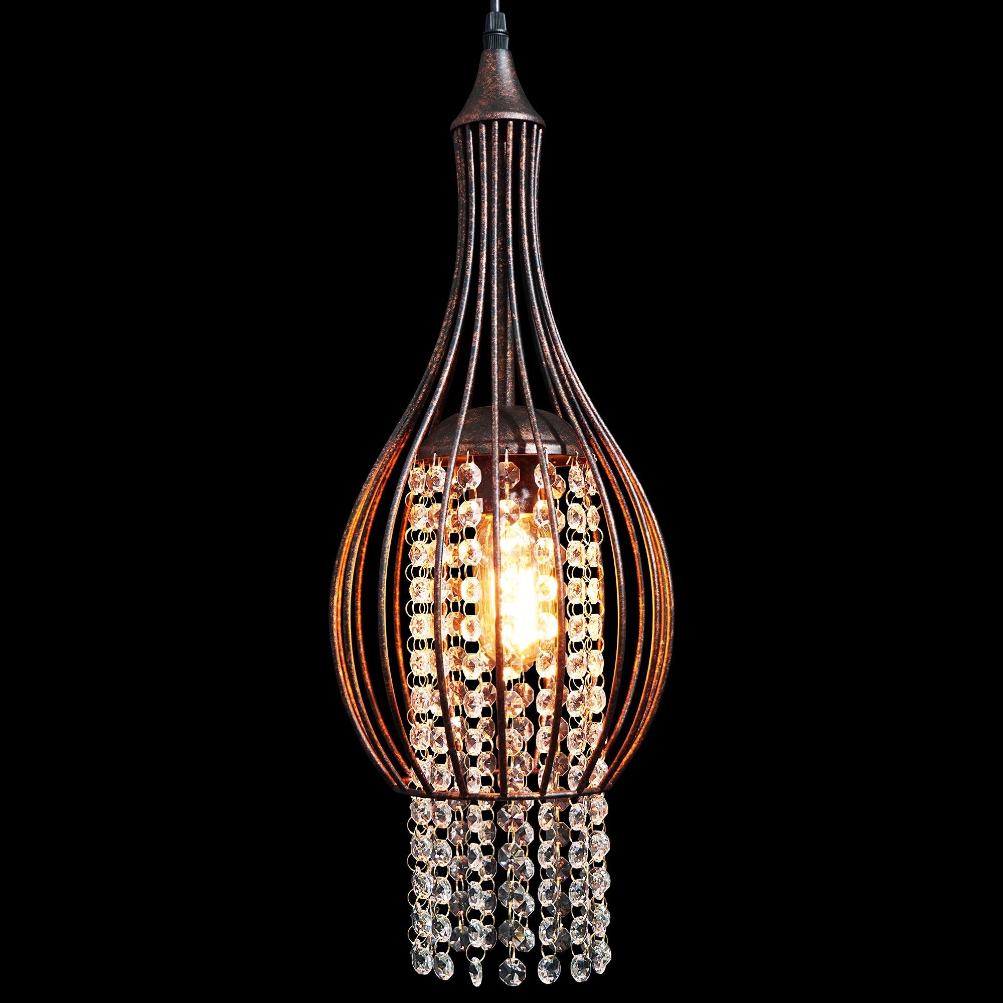 lighting reviews wayfair pdx ceiling crystal tilda led pendant light