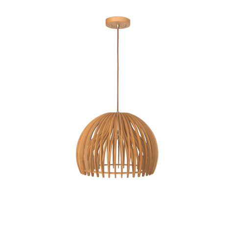 Bentwood Bowl  Wooden Pendant Lighting for Interior Decor