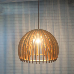 Starthi Contemporary Style Bentwood Bowl Shape Pendant Light