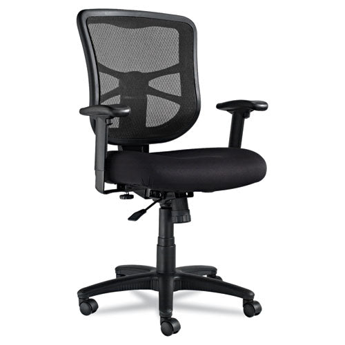 Mid-Back Swivel/Tilt Chair, Black Alera Elusion Series Mesh