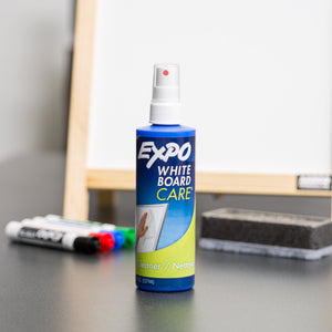 EXPO Whiteboard / Dry Erase Board Liquid Cleaner, 8-ounce