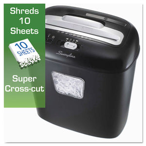 Shredder, EX10-05 Super Cross-Cut Shredder, 10 Sheets, 1 User