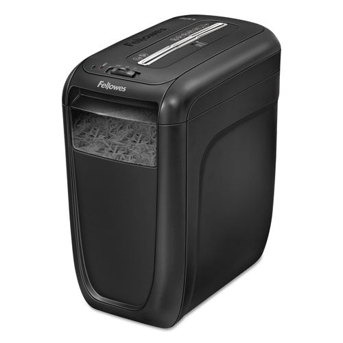 Shredder, Powershred 60Cs Light-Duty Cross-Cut Shredder, 10 Sheet Capacity