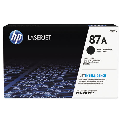 HP 87A, (CF287A) Black Original LaserJet Toner Cartridge