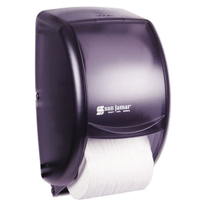 Duett Standard Bath Tissue Dispenser, 2 Roll, 7 1/2w x 7d x 12 3/4h, Black Pearl