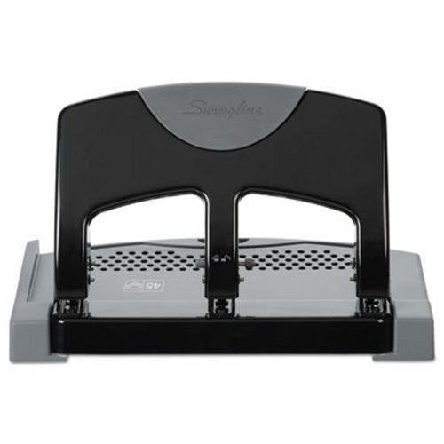 Swingline Deluxe Heavy-Duty 3-Hole Punch, 45 Sheet Capacity