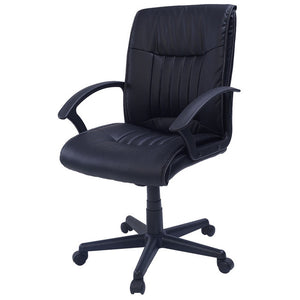 GIANTEX New PU Leather Ergonomic Office Chair Armchair Executive Chair Boss Lift Chair Swivel Chair Office Furniture CB10059