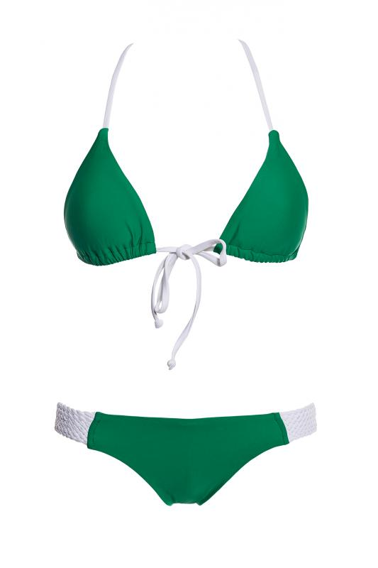 Green Playa Bikini Top