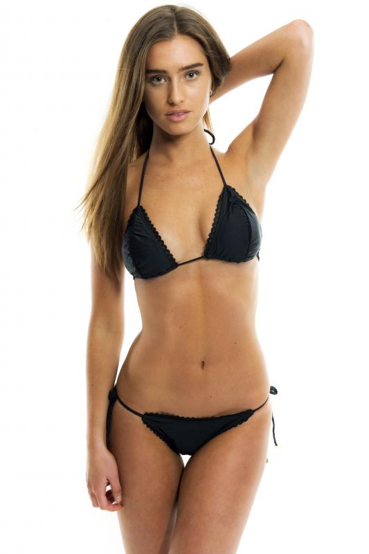 Black Perfect Fit Bikini Top