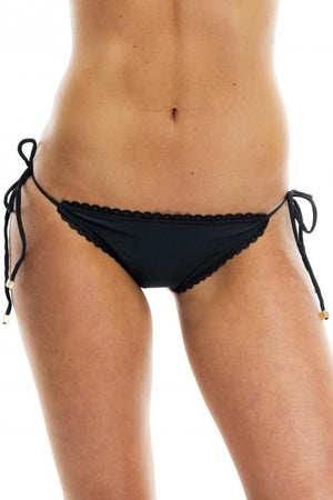 Black Perfect Fit Bikini Bottom