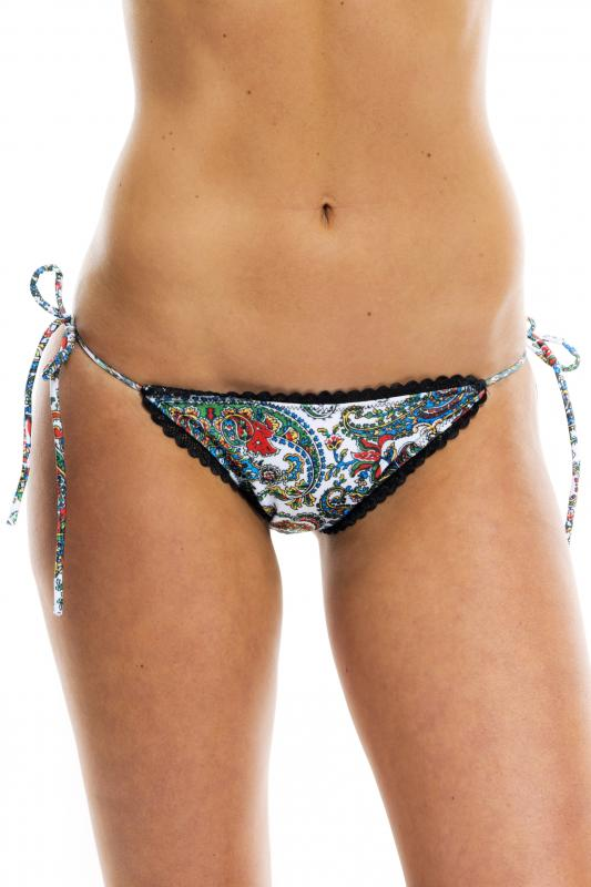 Paisley Perfect Fit Bikini Bottom