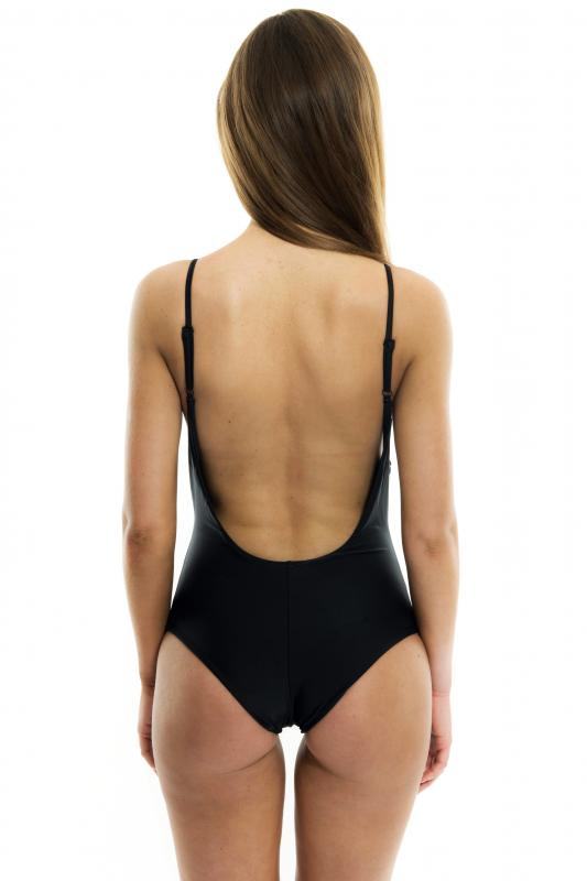 Black Basic Swimsuit
