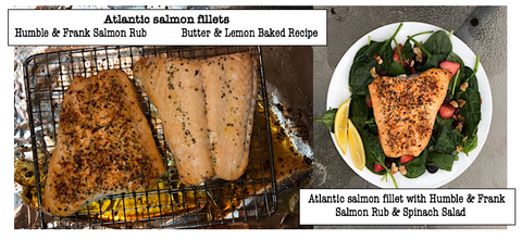 Butter & Lemon Baked Salmon Recipe