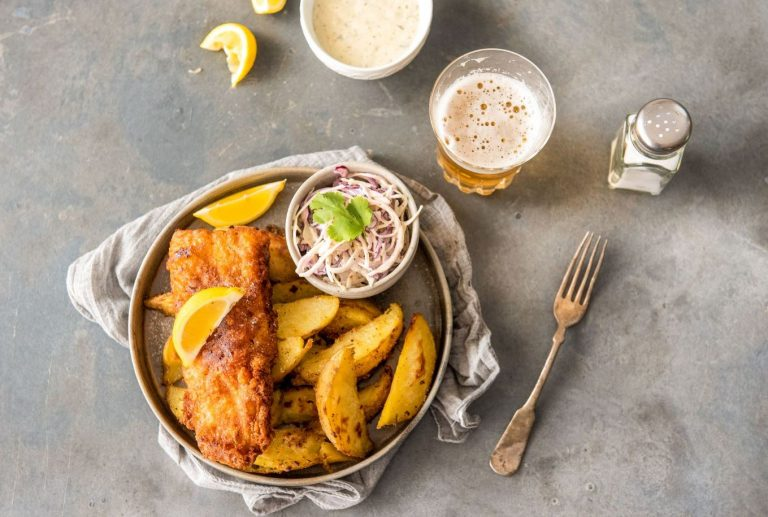 Fish & Spicy Chips Recipe