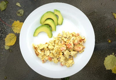 langostino lobster scrambled egg recipe