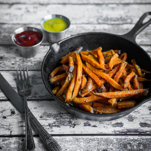 Sweet Potato French Fries, Oven Ready