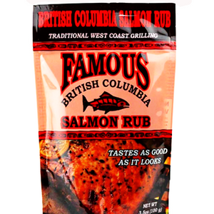 famous salmon rub and marinade british columbia