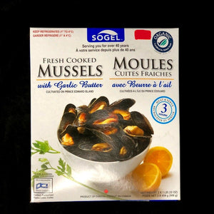 Mussels with Garlic Butter