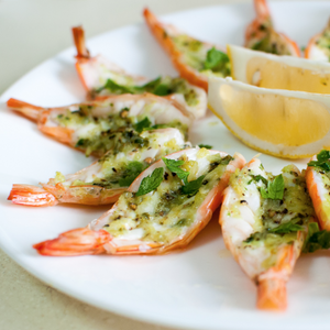 Wild Argentina Shrimp, Raw, Butterflied