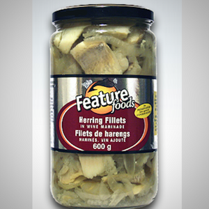 pickled herring in wine marinade 600g