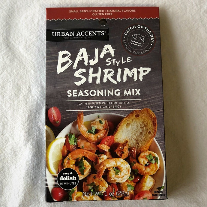 baja style shrimp seasoning mix 28 grams by urban accents