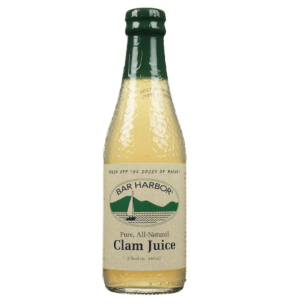 bar harbour clam juice pure and all natural 240 ml